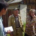 ゾーンということを忘れるのどかな民家で、面白い話をたくさん聞かせてくれたイワンさん。と奥様。元気な方だった。