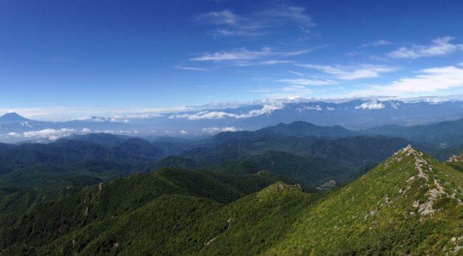 今年も金峰山へ